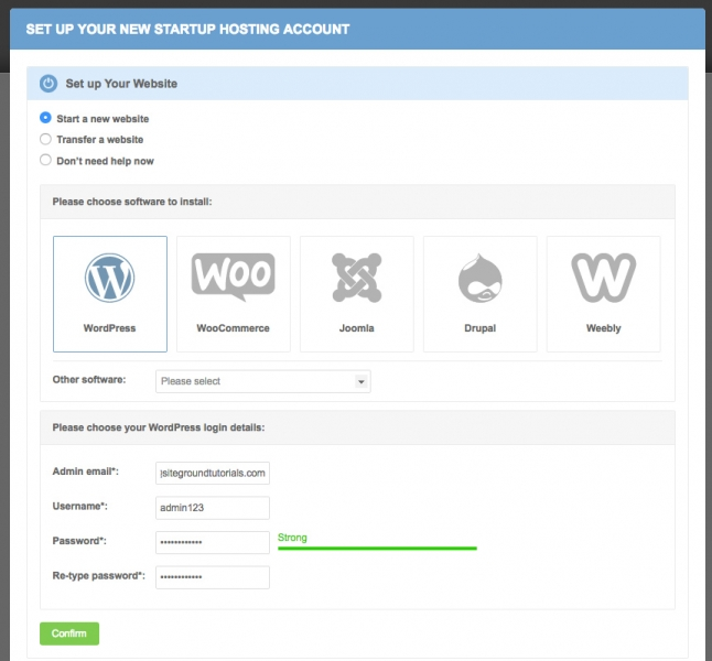 SiteGround WordPress hosting guide