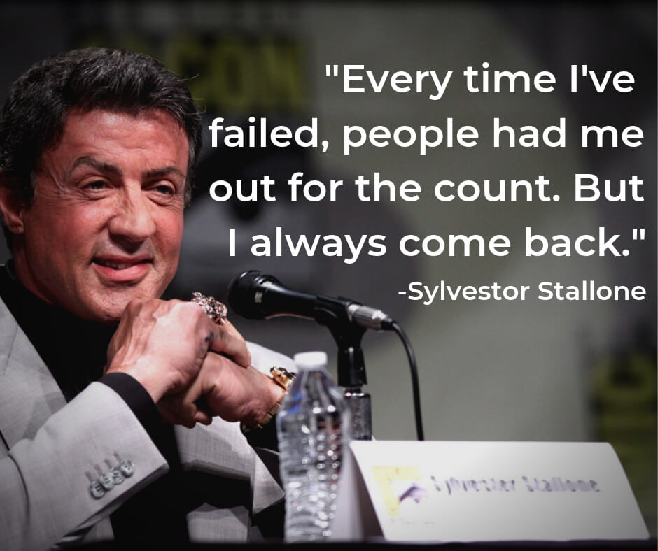 Sylvester Stallone Failure Quote